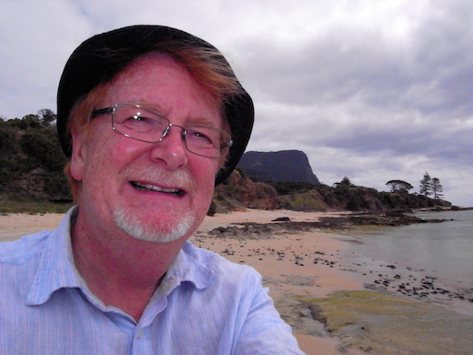 MIke Guiry at Lord Howe Island